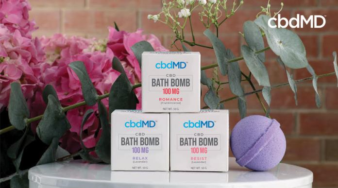 cbdMD-Relax CBD Bath Bomb-CBD products-CBDToday