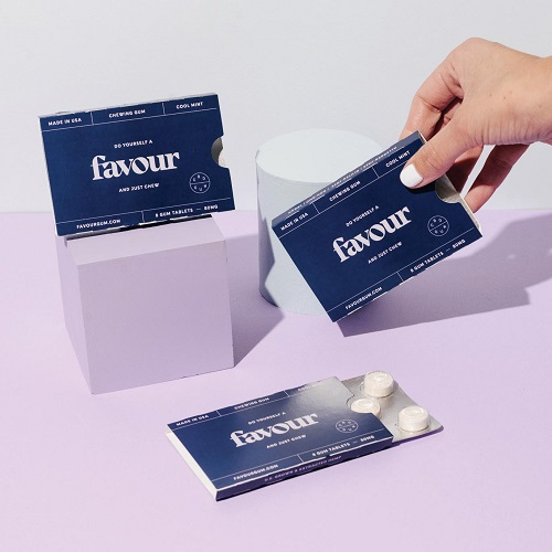 Favour Chewing Gum-CBD products Gift Guide-CBDToday