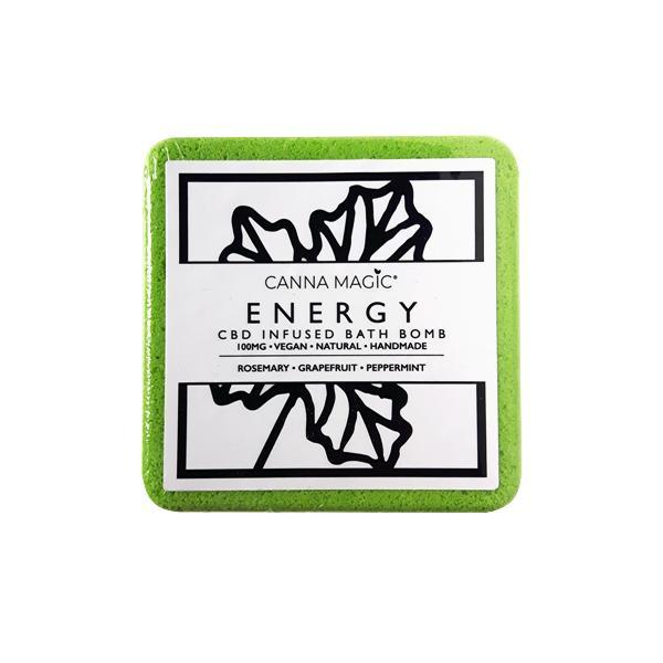 Canna Magic CBD Bath Bombs Energy