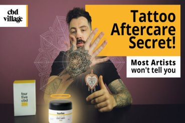 CBD & Tattoos - Can CBD Help Tattoos Heal Better