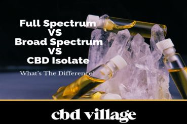 Full Spectrum CBD VS Broad Spectrum CBD VS CBD Isolate - What's The Difference?