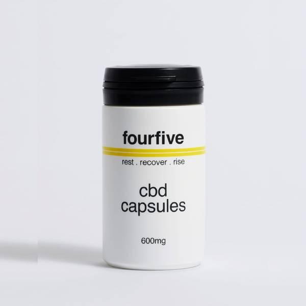 FourFive 600mg CBD Capsules