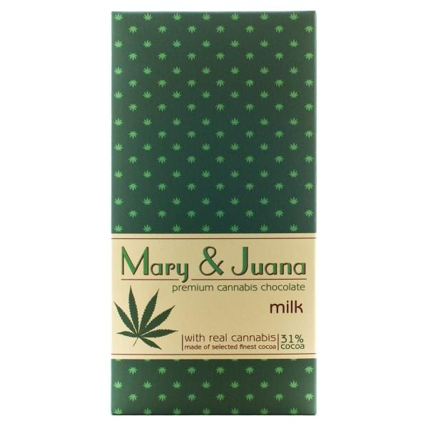 Euphoria Mary & Juana Milk Chocolate