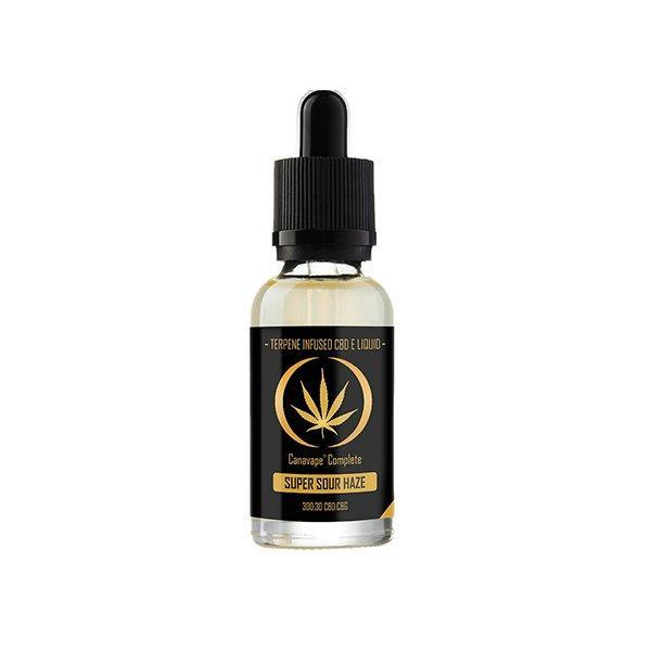 Canavape Super Sour Haze CBD E-liquid