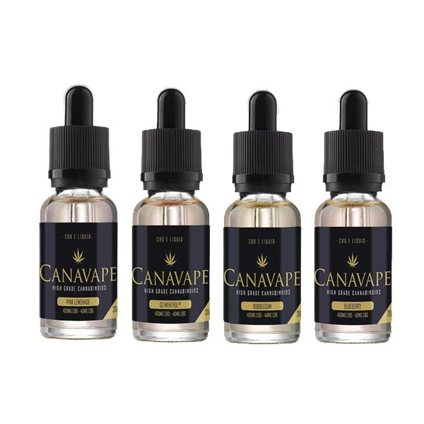 Cannavape Eliquid with CBD