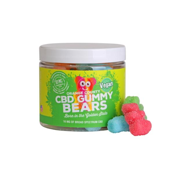 CBD Gummy Bears Vegan