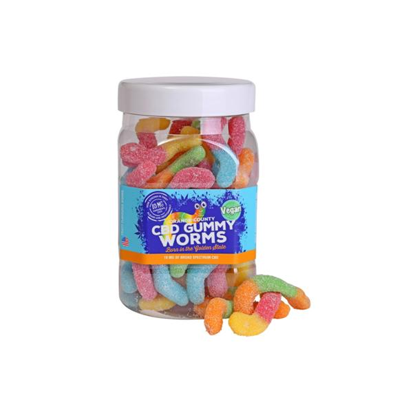 CBD Gummy Worms