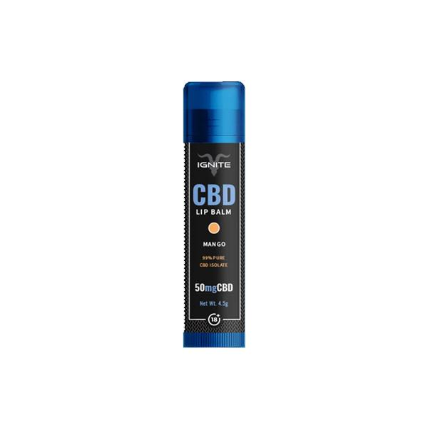 Ignite CBD | Lip Balm - Mango | 50mg CBD