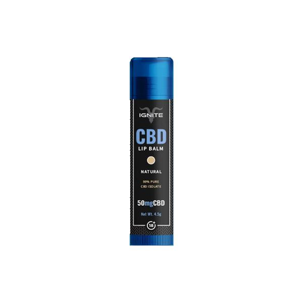 Ignite CBD | Lip Balm - Natural | 50mg CBD