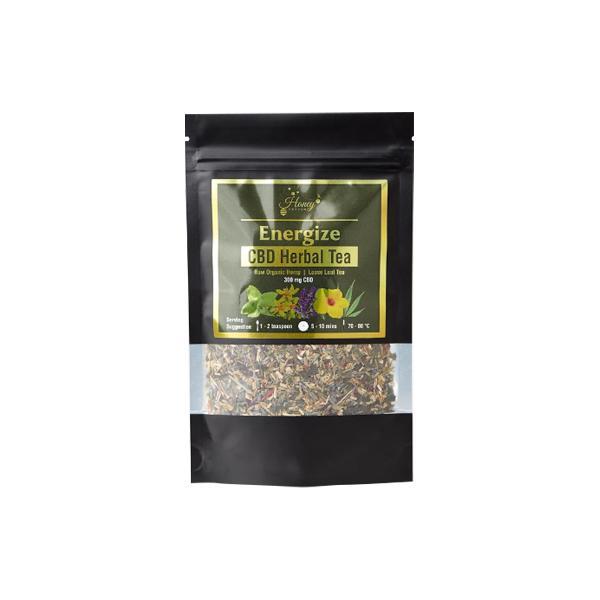 Honey Heaven 300mg CBD Loose Leaf Herbal Tea 50g – Energise