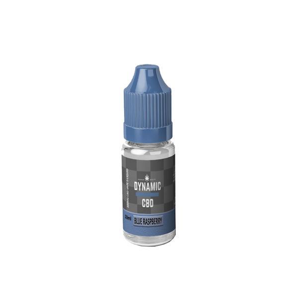 Dynamic CBD 100mg E-liquid 10ml Blue Raspberry
