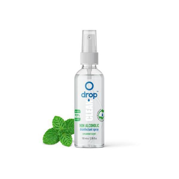 Drop Clean Disinfectant Spray 100ml - Spearmint