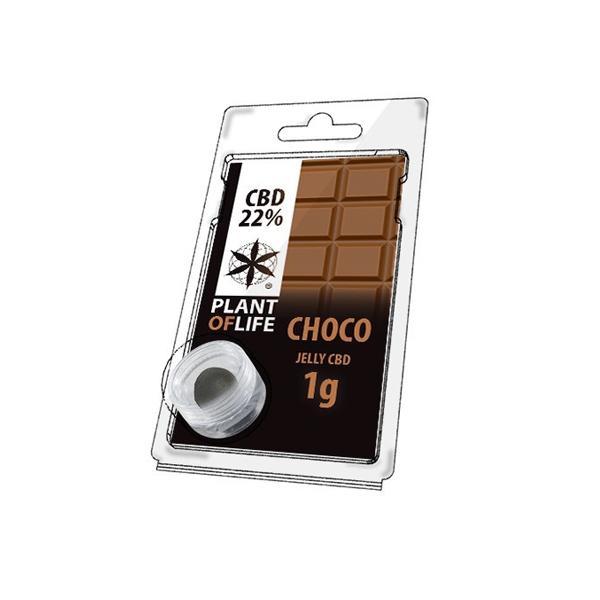 Plant Of Life Chocolate CBD Jelly 22%
