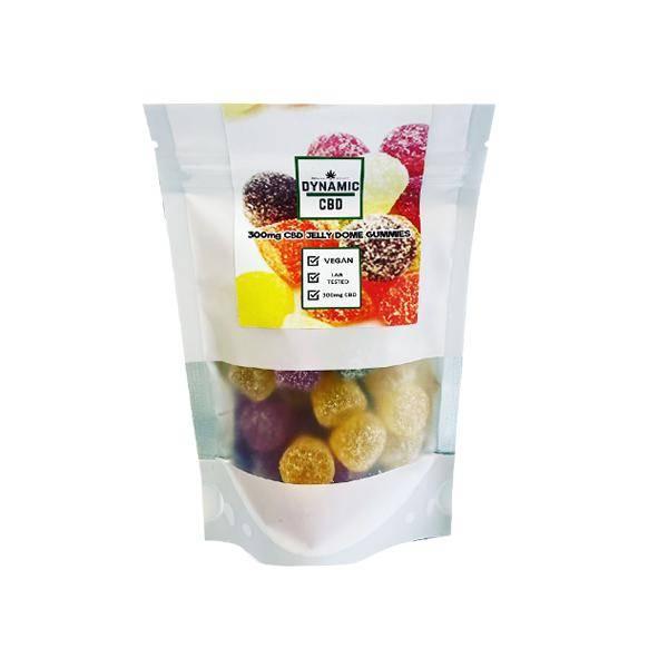 Dynamic CBD Jelly Dome Gummies 300mg