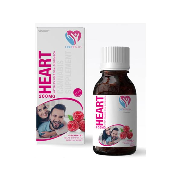Heart 200mg Cannabis Supplement