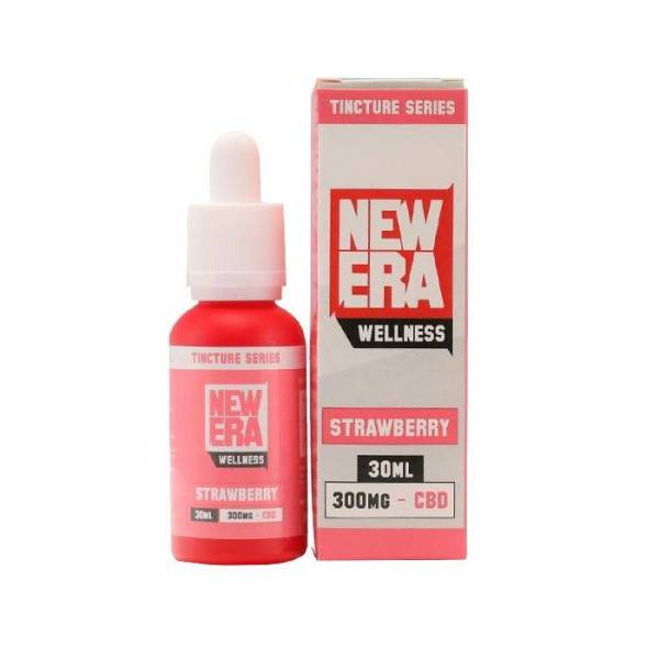 New Era Wellness CBD 30ml Strawberry (1)