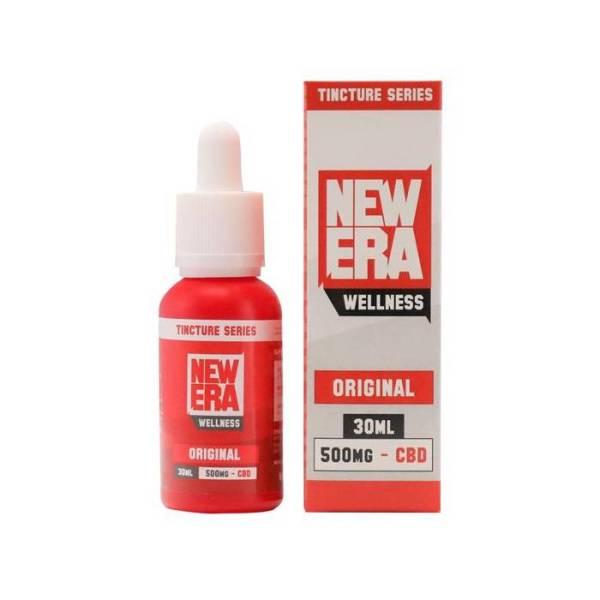 New Era Wellness CBD 500mg 30ml Original