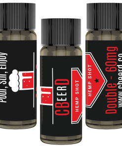 CBeerD Double Shot 3-Pack which is the best CBD mixer in the United States