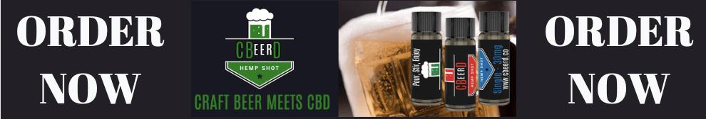 Order CBeerD CBD Mixer for Beer Wine and Cocktails
