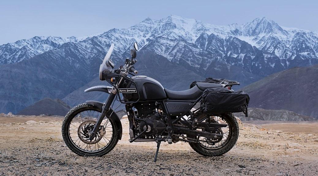 Royal Enfield Himalayan classic bike esprit