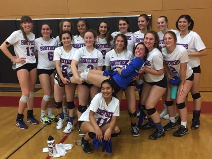 Falcons Volleyball Battles It Out In State Tournament