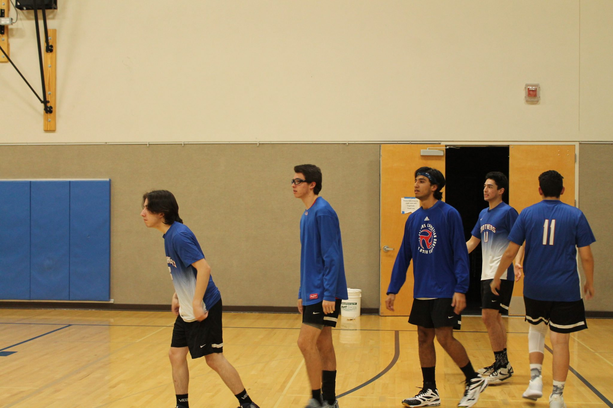 Men's Volleyball Earns Three Set Victory over McClatchy