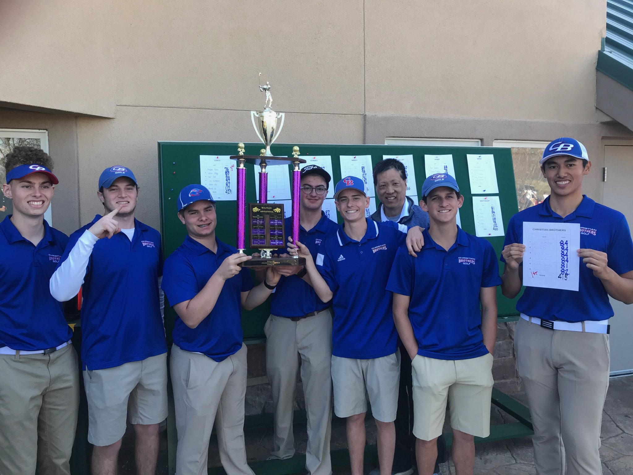 Men's Golf Swings into Sections