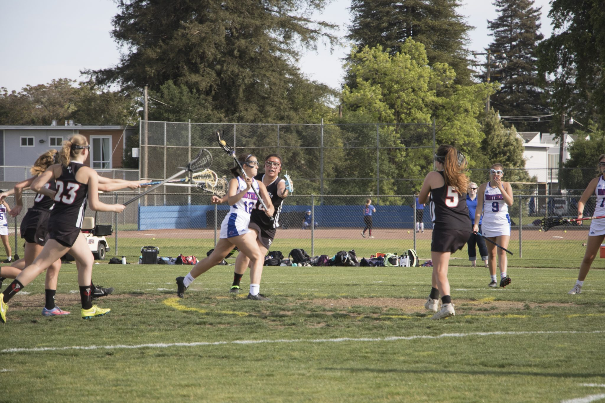 Lady Lax Sends Off Coach Coyner With Back-To-Back Wins