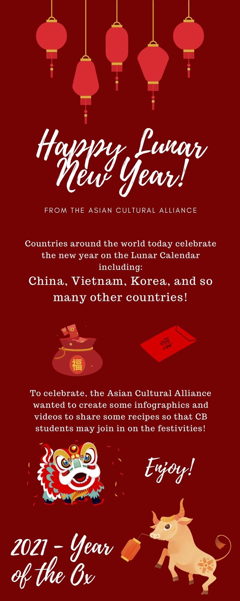 CB Asian Cultural Alliance Celebrates Lunar New Year
