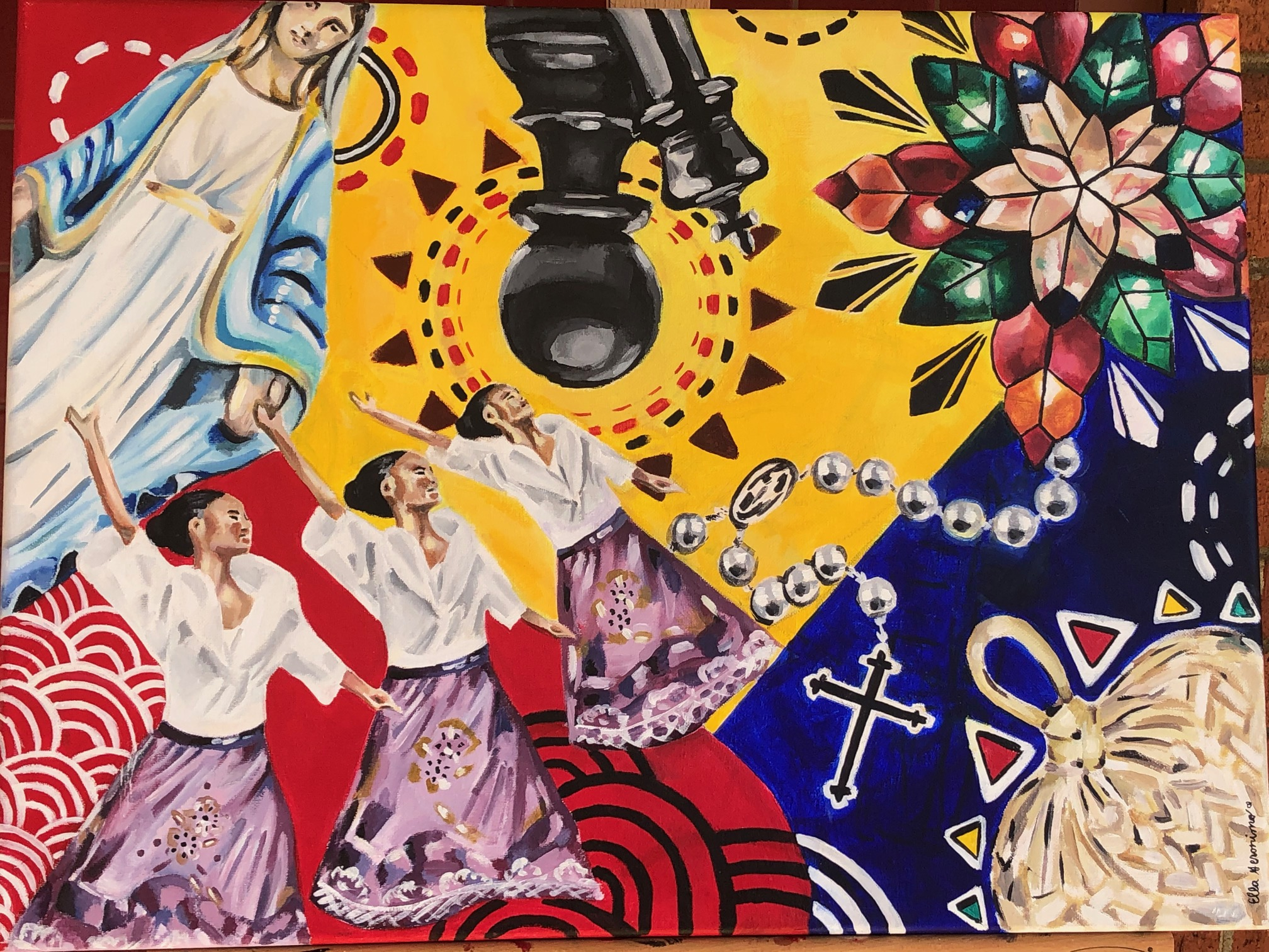 CB Students Honor Their Ancestors Through Art