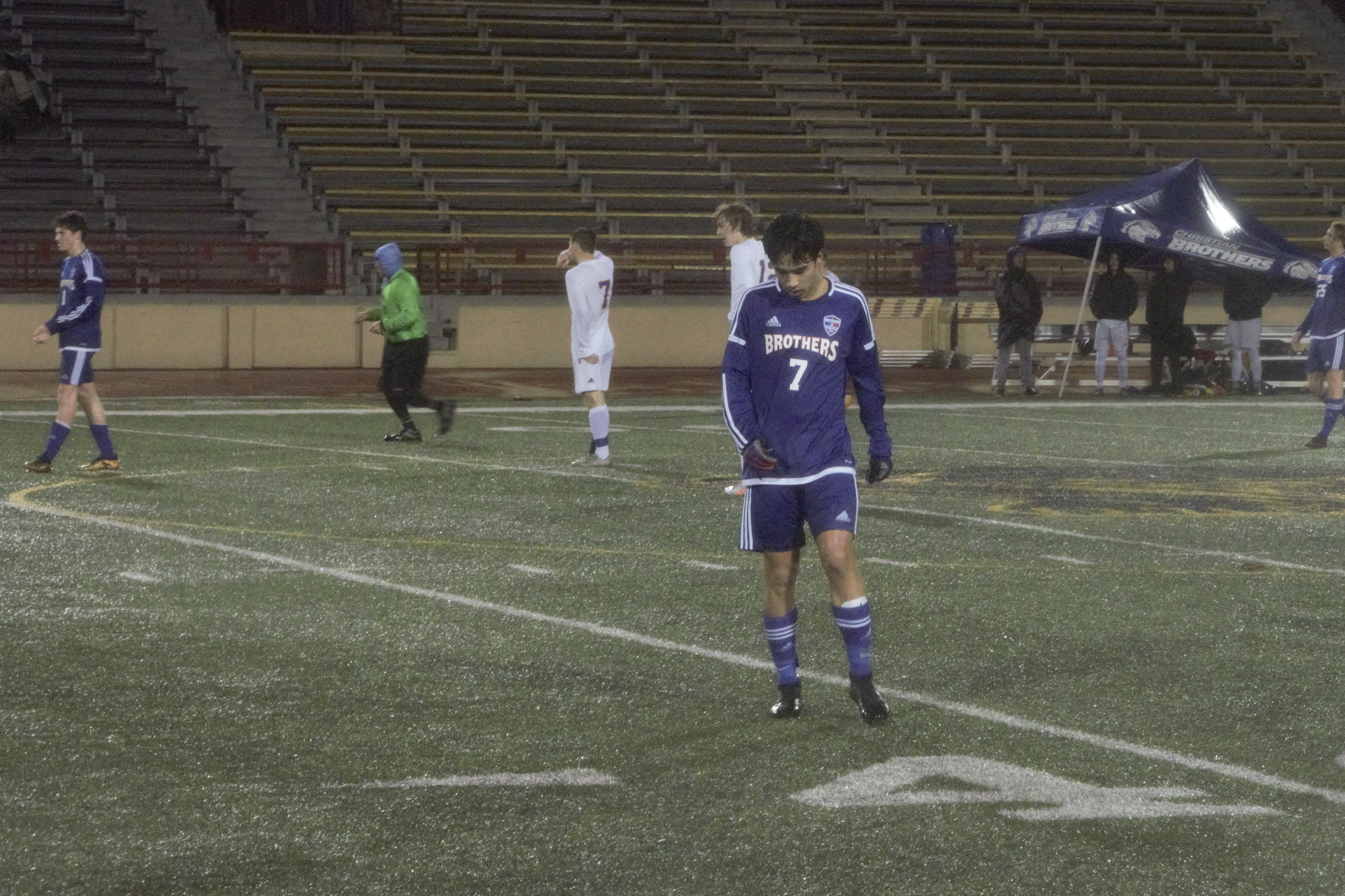 Men's Soccer Secures A Playoff Spot After Beating El Camino