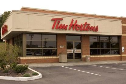 Tim Hortons store - Je vous raconte mon voyage au Québec !