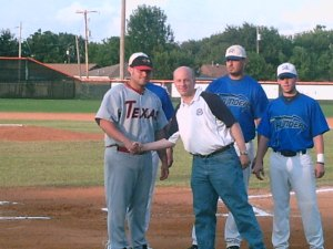 CBL Championship Ron Baron With League Award Winners