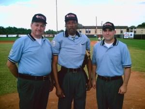 2007 Continental Baseball League championship umpires