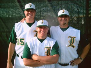 Matt Sartor, Cory Press, Ben Parker Lewisville Lizards
