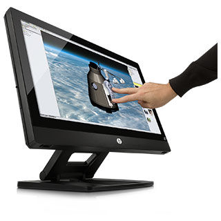 HP All-in-one Versatile view