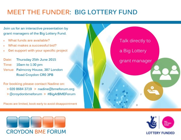 Big Lottery Meet the Funder