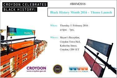 BHM2016 Launch Leaflet