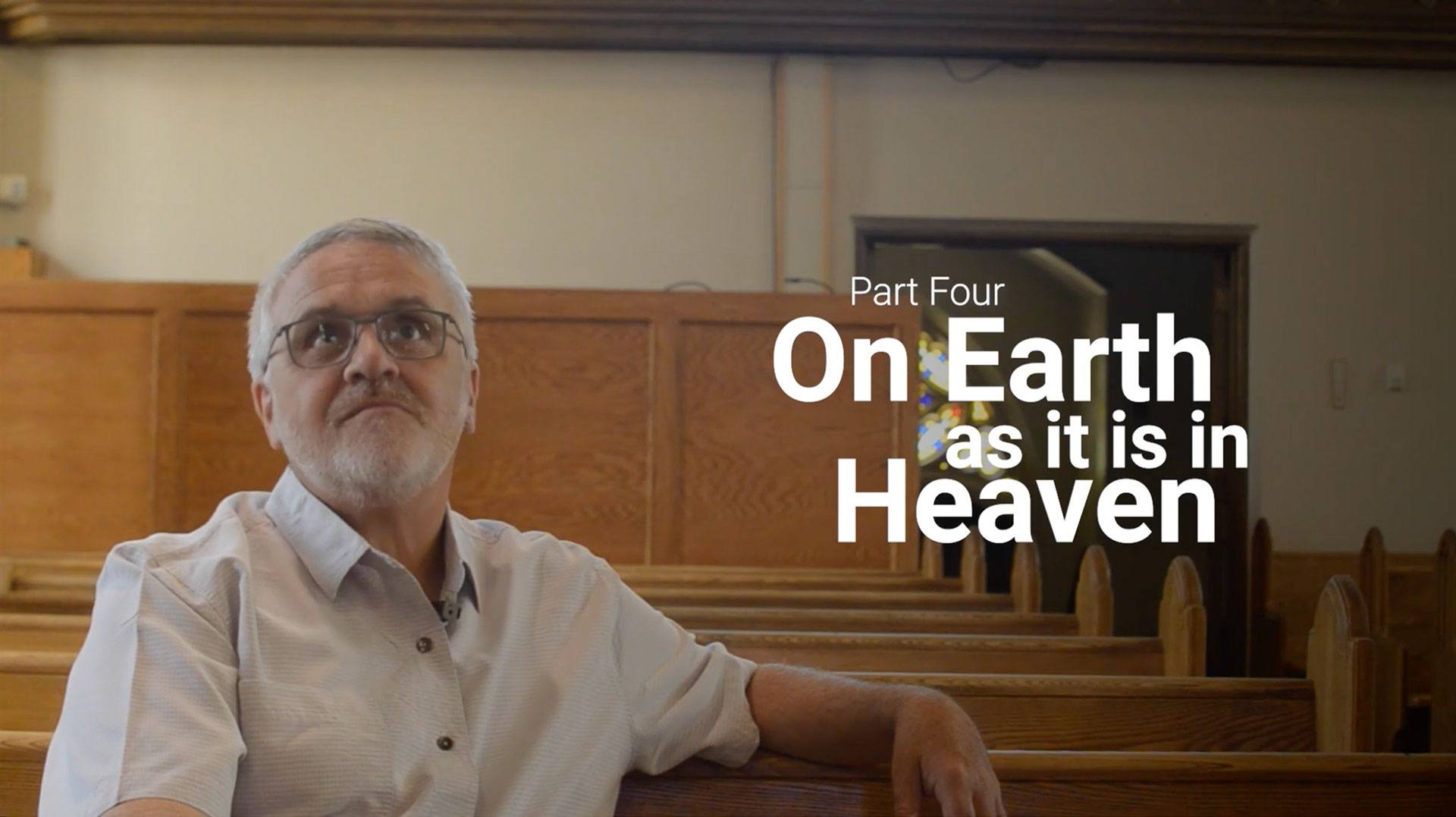 """Image of """"On Earth As It Is In Heaven"""" header"""