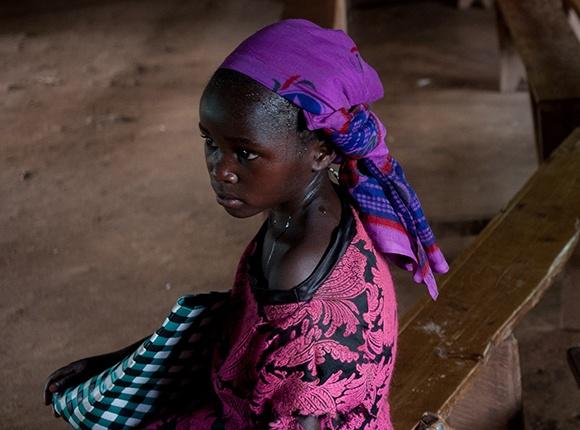 Photo of Rwandan girl