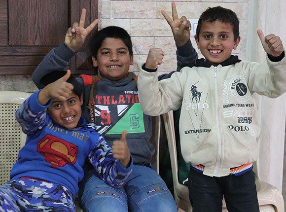 Photo of Lebanese children