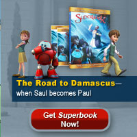 Join the Superbook DVD Club and get 'The Road to Damascus'