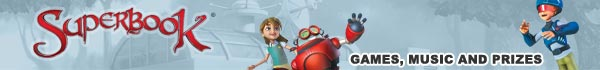 Superbook.TV - Games, Music and Prizes