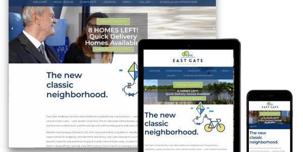 East Gate Responsive Design Website