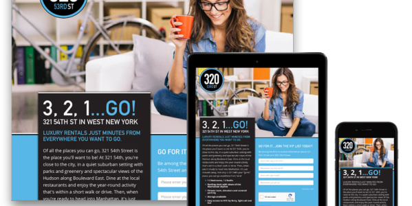 321 54th Responsive Design Website