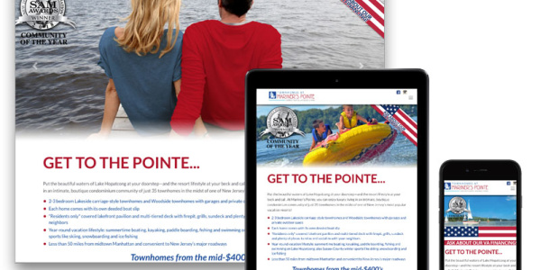 Mariner's Pointe Responsive Design Website
