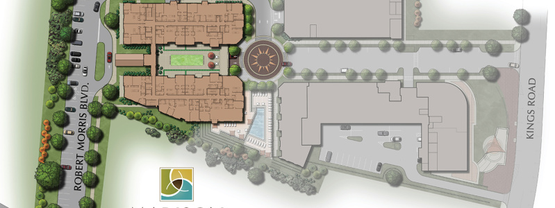 Madison Place Site Plan