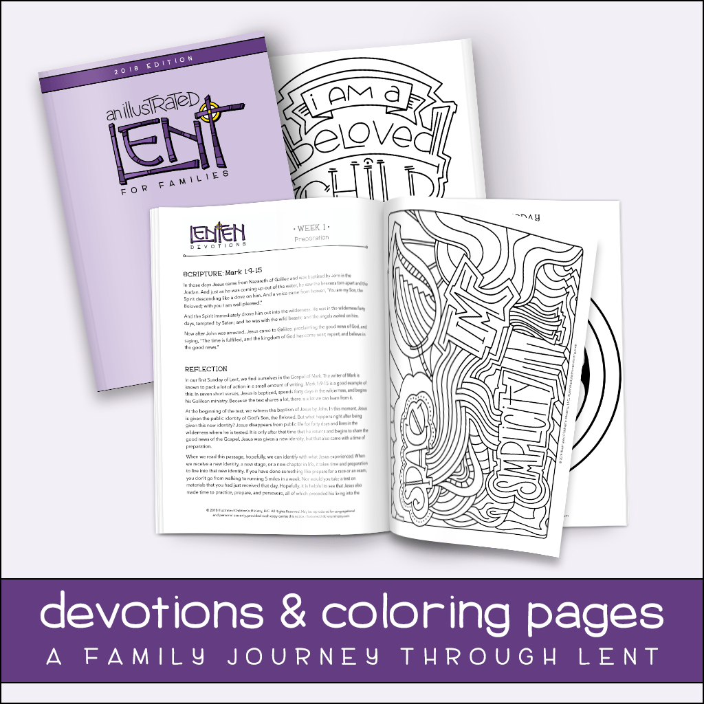 Lent Ideas And Resources