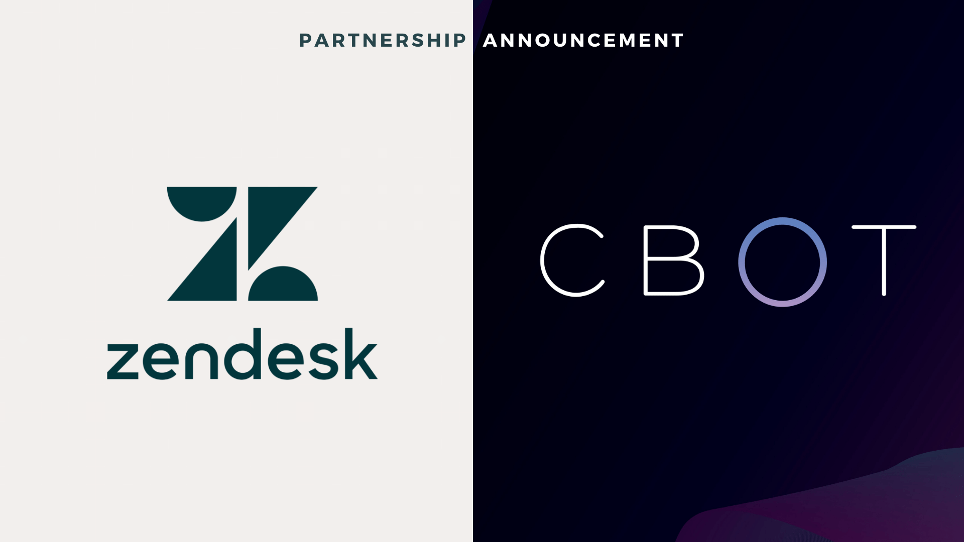 CBOT Zendesk Partnership
