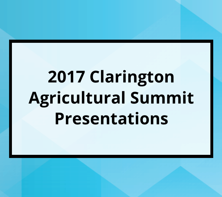 2017 Agricultural Summit